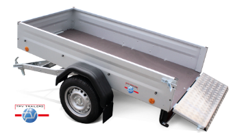 TPV tipper trailers, low-bed