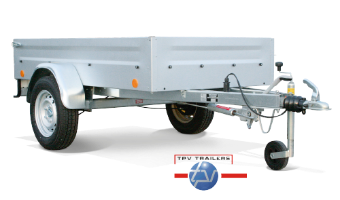 TPV low-bed trailers, single-axle