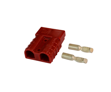 Anderson connector SB 50 red 6 qmm